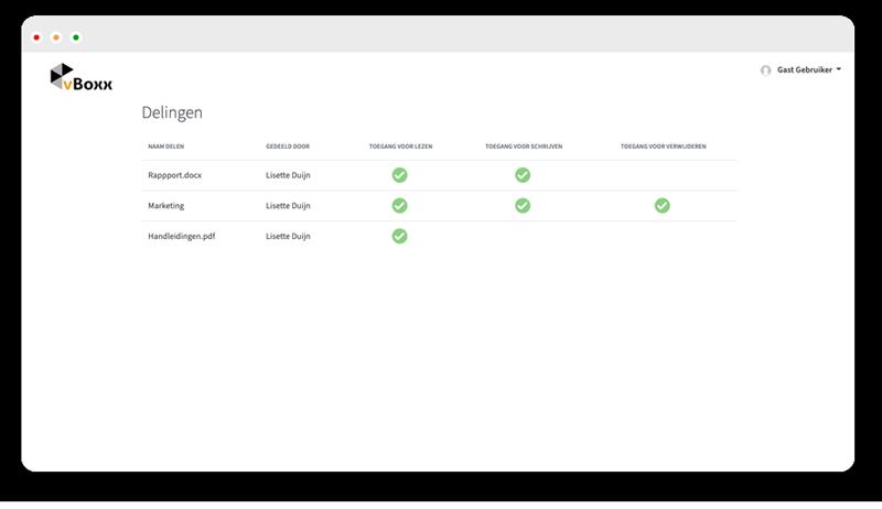 delen met externe contacten 2 - vBoxxCloud