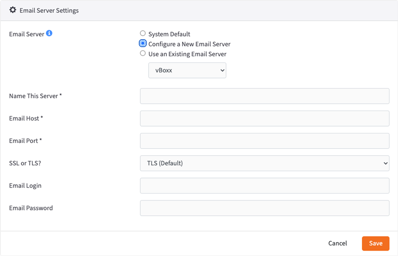 email server - vBoxxCloud