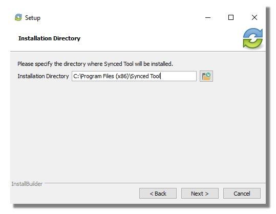 vboxx sync tool - selective sync