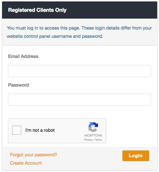 vBoxx Client Portal Login